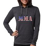 MMA USA Womens Hooded Shirt