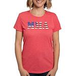 MMA USA Womens Tri-blend T-Shirt