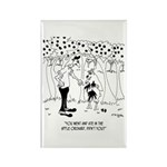 Goat Ate In The Apple Orchard Rectangle Magnet (10
