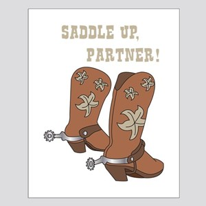 Saddle Up Partner Posters