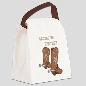 Saddle Up Partner Canvas Lunch Bag