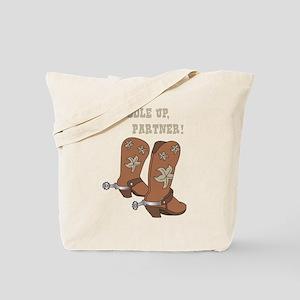 Saddle Up Partner Tote Bag