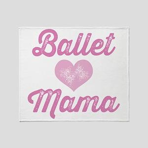 Ballet Mom Throw Blanket