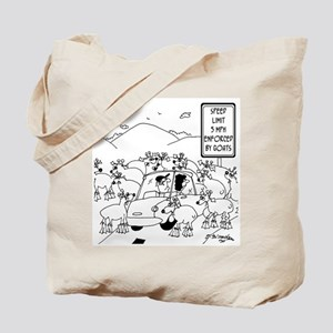 Speed Limit Enforced By Goats Tote Bag