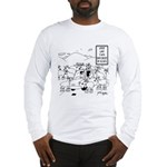 Speed Limit Enforced By Goats Long Sleeve T-Shirt