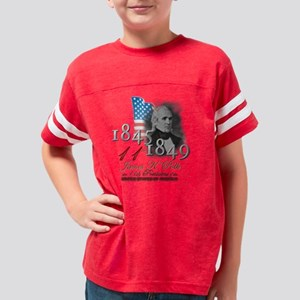 USA Presidents - 11th Polk Youth Football Shirt