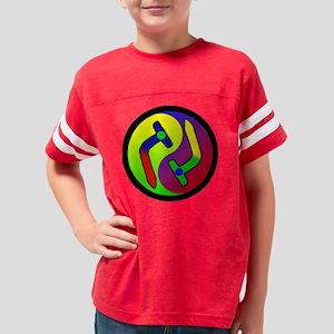 bns yingyang003 Youth Football Shirt