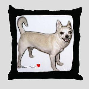 Cute Heart Chihuahua Throw Pillow
