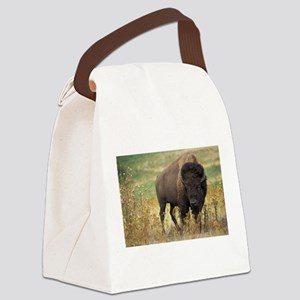 American buffalo Canvas Lunch Bag