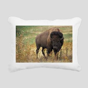 American buffalo Rectangular Canvas Pillow