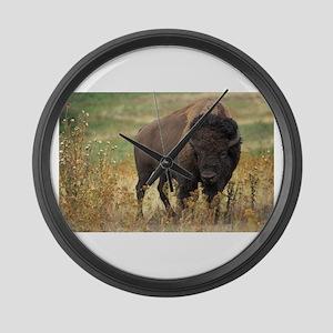 American buffalo Large Wall Clock