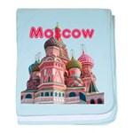 Moscow baby blanket