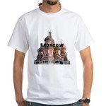 Moscow White T-Shirt