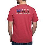 Usa Mma Mens Tri-Blend T-Shirt