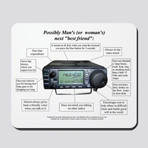Ham Radio Friend - Mousepad