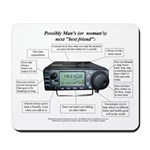 Ham Radio Friend - Mousepad
