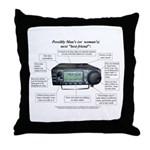 Ham Radio Friend - Throw Pillow