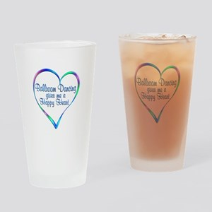 Ballroom Happy Heart Drinking Glass