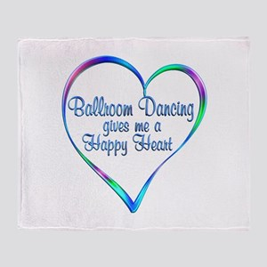 Ballroom Happy Heart Throw Blanket