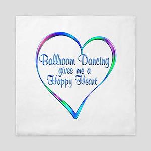 Ballroom Happy Heart Queen Duvet