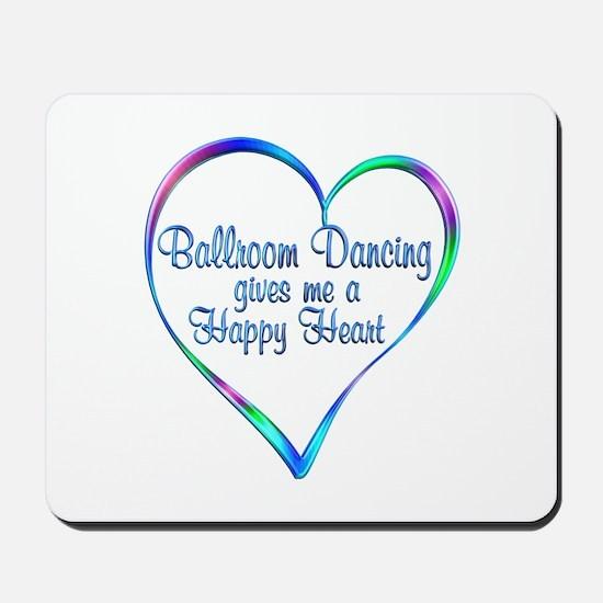 Ballroom Happy Heart Mousepad