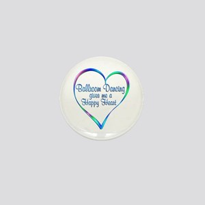 Ballroom Happy Heart Mini Button