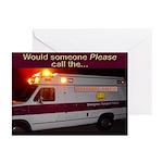 Wamblance Greeting Cards (Pk of 10)