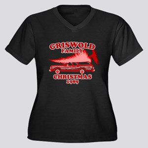 Griswold-Red-01 Plus Size T-Shirt