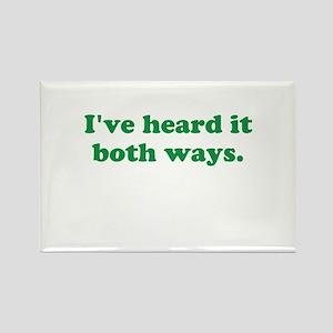 I've heard it both ways - Green Magnets