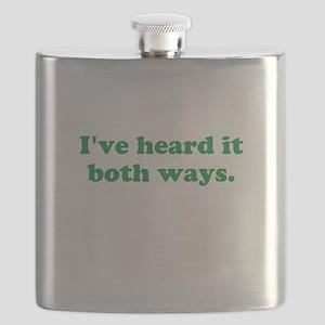I've heard it both ways - Green Flask