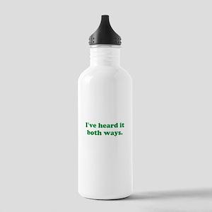 I've heard it both ways - Green Water Bottle