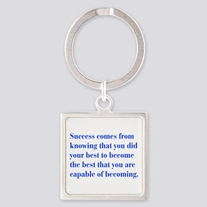 success-bod-blue Keychains