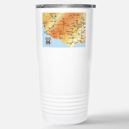 Cute Route 66 Travel Mug