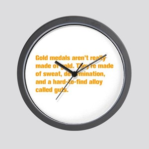 gold-medal-akz-orange Wall Clock