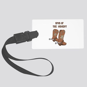 Spur Of The Moment Luggage Tag