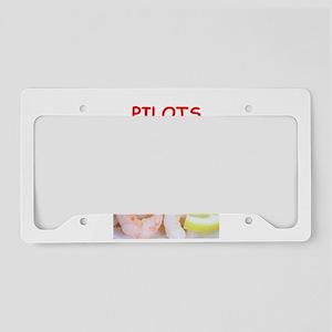 pilot License Plate Holder