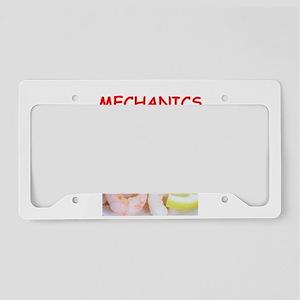 mechanic License Plate Holder