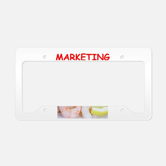 marketing License Plate Holder