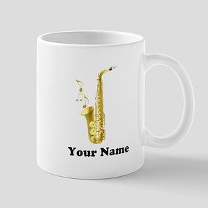 Saxophone Personalized 11 oz Ceramic Mug