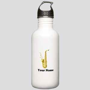 Saxophone Personalized Stainless Water Bottle 1.0L
