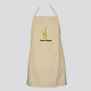 Saxophone Personalized Light Apron
