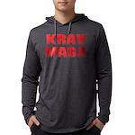 Krav Maga Mens Hooded Shirt