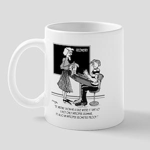 Geometric Proof Mug