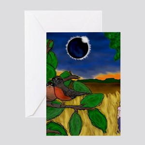 Solar Eclipse Dream Greeting Cards