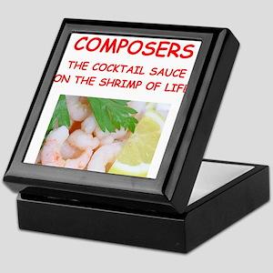 composer Keepsake Box