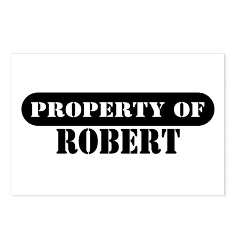Property of Robert Postcards (Package of 8)