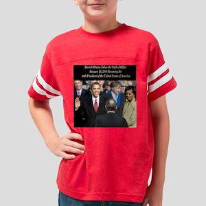 OathOfOfficeSquare Youth Football Shirt
