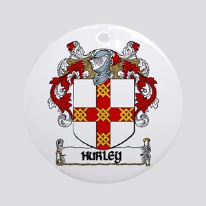 Hurley Coat of Arms Ornament (Round)