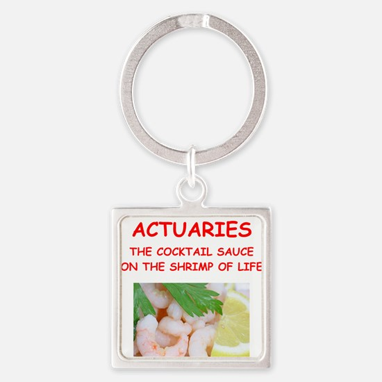actuary Keychains