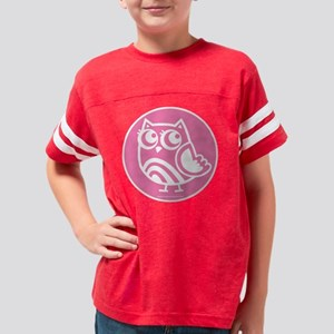OWL on PINK Youth Football Shirt